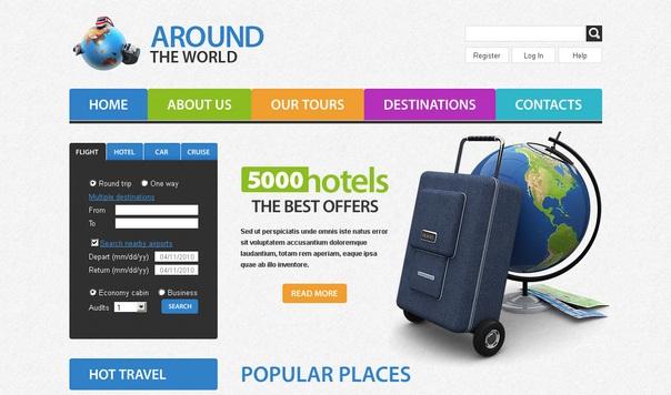 Around-travel-free-html5-templates