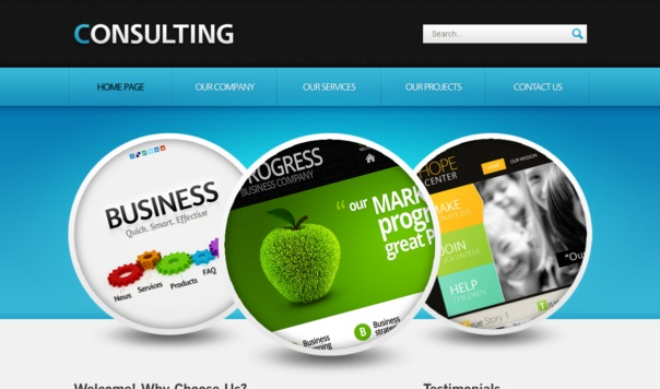 Consulting Free Html5 And Css3 Templates