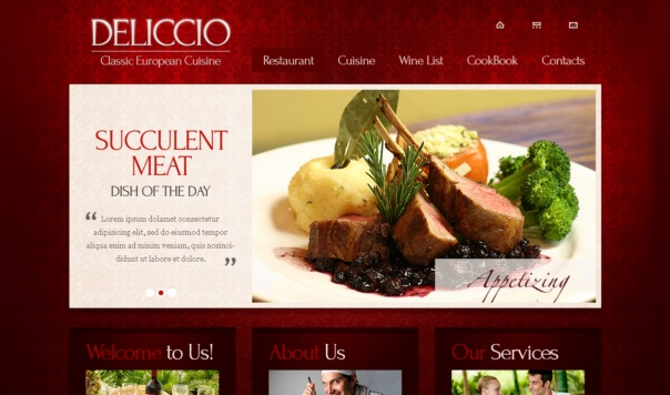 Deliccio-free-html5-and-css3-templates