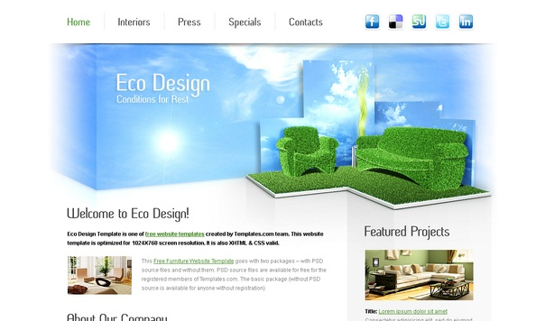 Ecodesign-Free-Html5-Templates