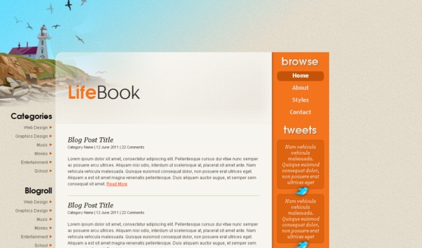 Lifebook-Free-html5-and-css3-templates