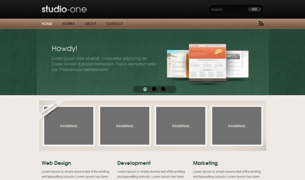Studio-One-Free-Html5-and-Css3-Templates