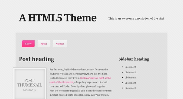 a-html5-theme