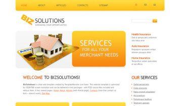 BizSolutions – Free Html5 Template