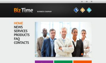 BizTime – Free Html5 Template