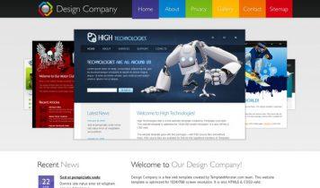 DesignCompany – Free Html5 Template