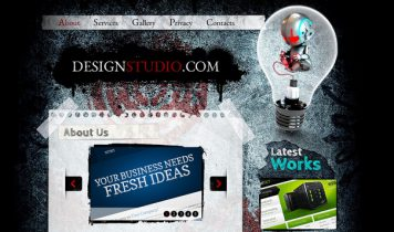 DesignStudio – Free Html5 Template