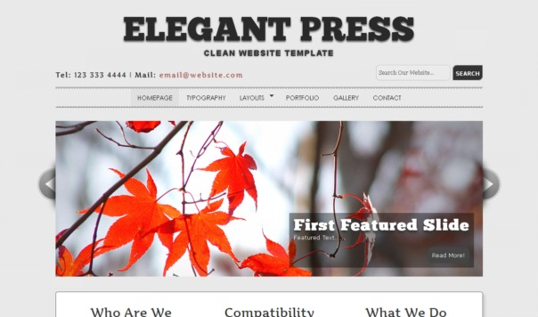 elegantpress-free-html5-and-css3-templates