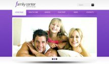 famil-center-free-html5-and-css3-templates