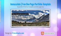 immaculate-free-html5-and-css3-templates