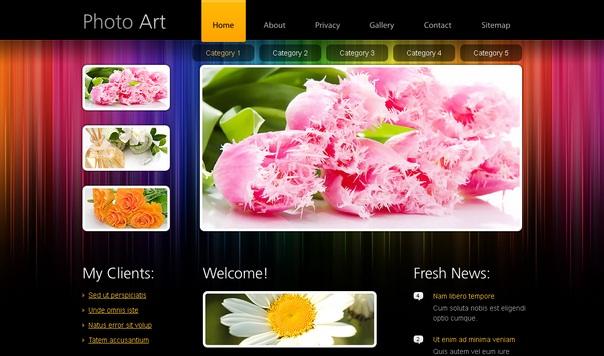 photoart-free-html5-templates