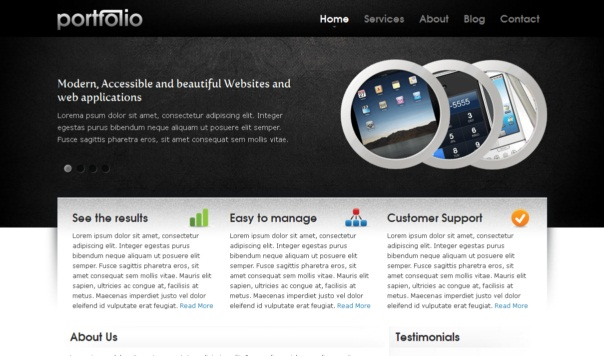 portfolio-free-html5-and-css3-templates