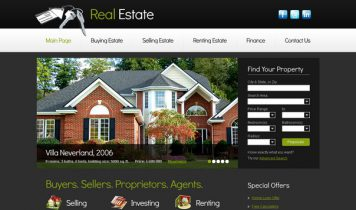 RealEstate – Free Html5 Template