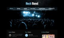 rock-band-free-html5-and-css3-templates