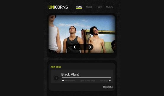 unicorns-free-html5-templates