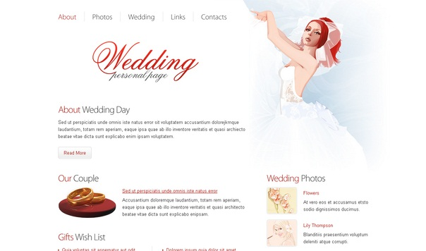 wedding-personal-free-html5-templates