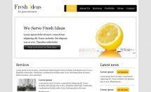 Fresh Ideas - free html5 templates [Free Html5 Templates]