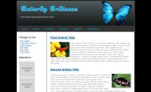 butterfly brilliance template [Free Html5 Templates]