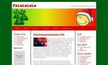 free falalala templates [Free Html5 Templates]