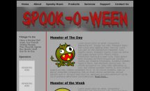 free spookoween templates [Free Html5 Templates]
