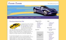 free zoomzoom template [Free Html5 Templates]