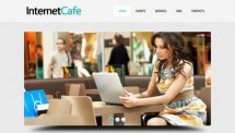 internetcafe template [Free Html5 Templates]