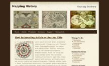 mapping history template [Free Html5 Templates]