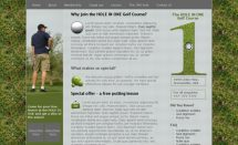 theholeinone template [Free Html5 Templates]