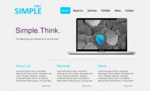 thinksimple [Free Html5 Templates]