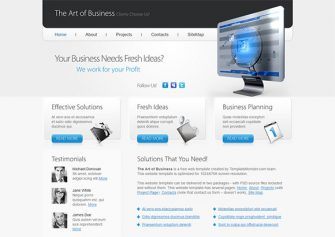 ArtBusiness – Free Html5 Template