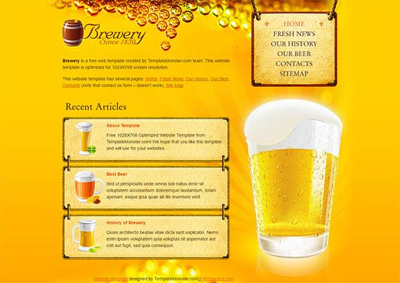 Brewery Html5 Theme