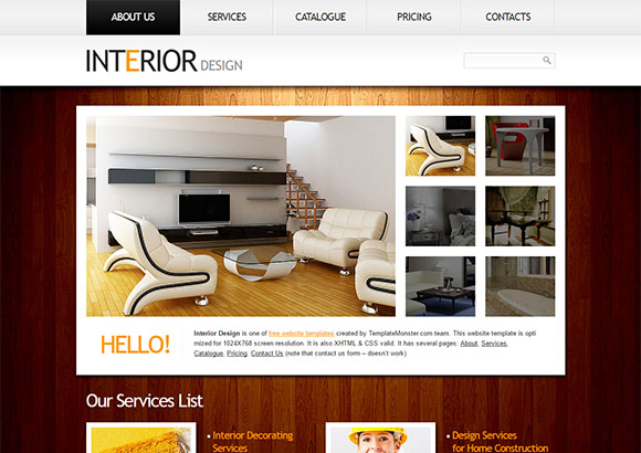InterioDesign Html5 Theme 2
