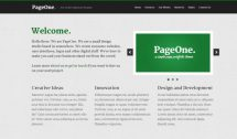 PageOne theme [Free Html5 Templates]