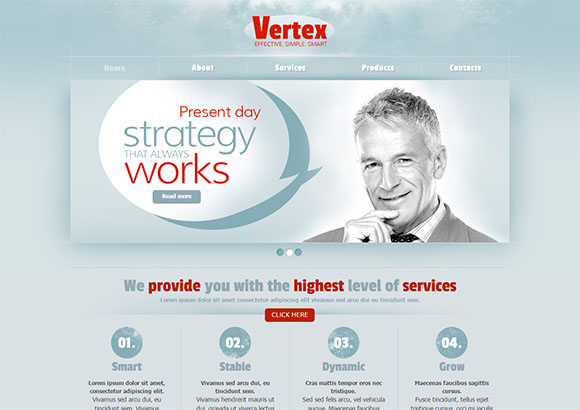 Vertex Html5 Theme