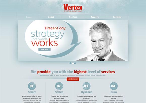 Vertex Html5 Theme
