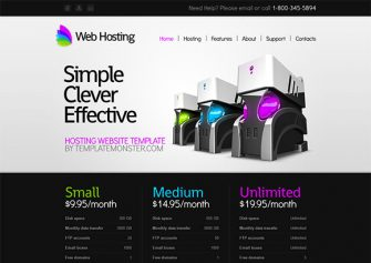WebHosting – Free Html5 Template