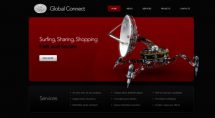 global connect theme [Free Html5 Templates]