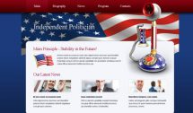 politician theme [Free Html5 Templates]