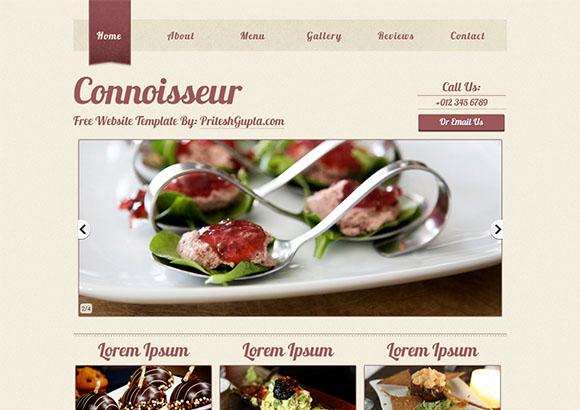 Connoisseur Html5 Theme