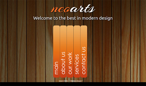 Neoarts Simple and Elegant Html Website