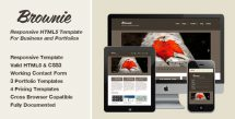 responsive-html5-portfolio-and-business-template-brownie