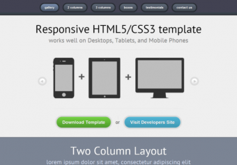 Responsive01 – Free Html5 Template