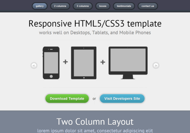 responsive01 theme [Free Html5 and Css3 Templates]