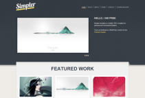 SIMPLER theme [Free Html5 and Css3 Templates]
