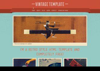 Vintage – Responsive Html5 Template