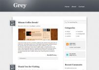 Grey Free Html5 Template