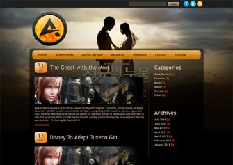 Attractive – Free Html5 Template