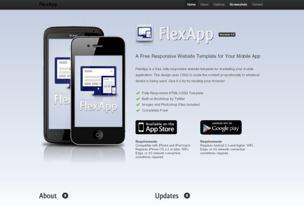 FlexApp theme [Free Html5 and Css3 Templates]