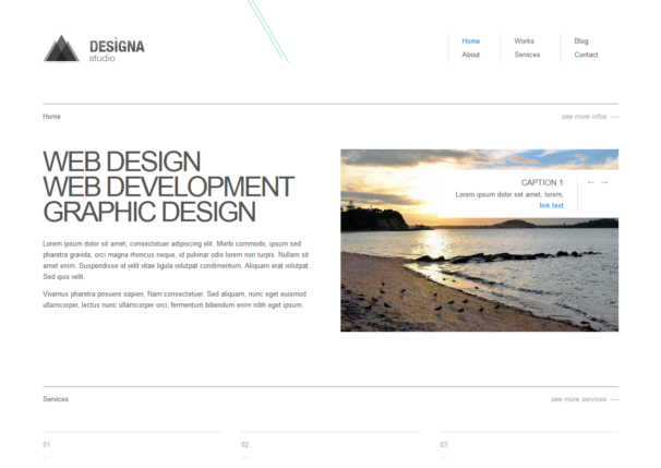 designa theme [Free Html5 and Css3 Templates]