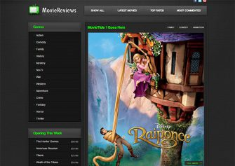 MovieReviews – Free Html5 Theme